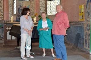 Malermeister Mietehen zählt zu den aktiven Unterstützer der Restaurierung.