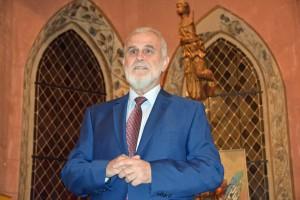 Bürgermeister Svarc eröffnete das Konzert und bedankte sich bei den Besuchern für ihr Kommen.