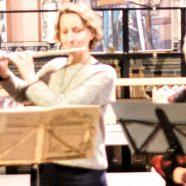 Weihnachtskonzert der Flötenklasse Penno