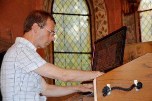 Joachim Thoms mit seiner Orgel zu Gast @ Patronatskirche