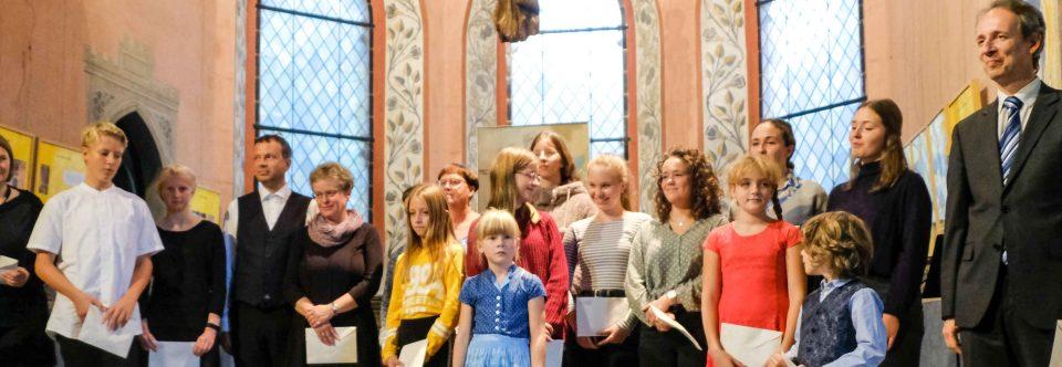 Podium junger Künstler