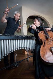 Duo Zeitreisen - Cello meets Vibraphone (Ausfall wegen Corona) @ Patronatskirche Schulzendorf